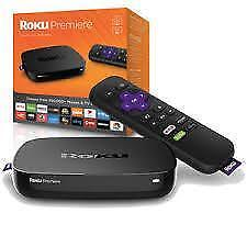 Roku Premiere Streaming Media Player with Remote - BRAND NEW SEALED