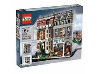 Lego Pet shop. New and still sealed. No longer available in shops as retired set