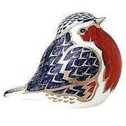 Royal Crown Derby Robin