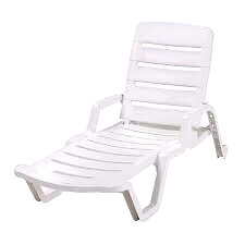 Looking for white plastic lounge chair!!