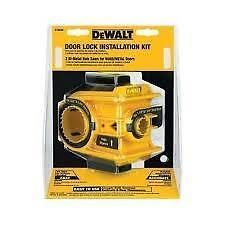 DEWALTd180004  Door Lock Installation Kit neuffffffff