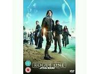 Star wars the rogue one dvd