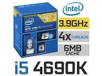 Intel Core i5-4690k Quad-Core 3.9GHz CPU