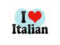 ITALIAN WITH NATIVE QUALIFIED TEACHER, SKYPE £ 20,00/H PLUS MATERIAL FOR FREE