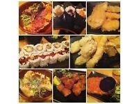 Japanese Restaurant in Edgware HA8 Need Waitress immediate start