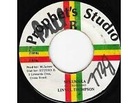 REGGAE vinyl records collection JOB LOT only £25