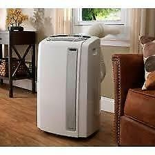 Delonghi Pinguino 14000 BTU Portable Air Conditioner with Heat Pump PACAN140HPEWS