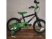 Kids Apollo Black/Green Bike Great Condition