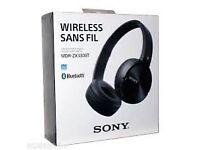 SONY wireless Bluetooth stereo headphones