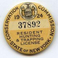 Ny hunting license ebay for How much is a fishing license in idaho