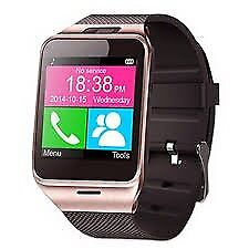 bluetooth smart watch facebook whatsapp (can be linked with your smart phone)water resistant