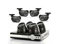 HD AHD IP cctv cameras system supplied and fitted