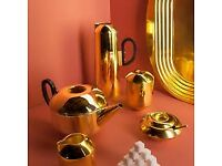 Tom Dixon Form Tea Set Brand New in Original Boxes Genuine Collectibles