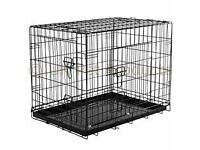 "Dog Cages, BRAND NEW, 30""-48"", Colours: Black, Silver, Green, Blue, Pink,"