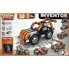 Brand New & Sealed INVENTOR 50 in 1 MOTORIZED MULTI MODELS Engino