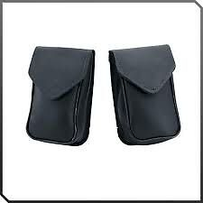Victory Motorcycle Windscreen Leather Bag