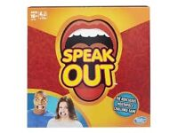 SPEAK OUT BRAND NEW READY TO POST OR COLLECTION
