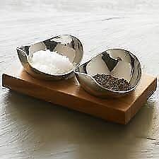 New Robert Welch Drift Pinch Pot Set Salt Pepper Plus Rushan