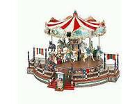 Mr Christmas World's Fair carousel