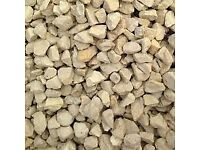 20mm Cotswold Buff Limestone Chipping Decorative Aggregate Stone/Gravel PER TONNE