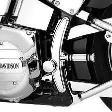 2000-2006 Harley Davidson Fatboy & Softail Chrome Swingarm Frame Cover Kit