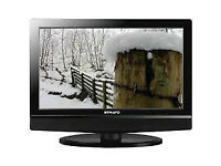 strato 19 inch hd tv with freeview - hdmi - rgb - usb - scart ect