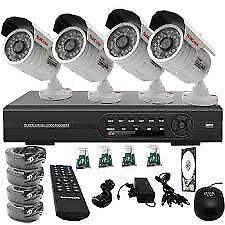 night vision cctv security kit cvi hd
