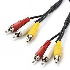 Skandia Premium Cables 3 RCA to 3RCA Plugs Liverpool Liverpool Area Preview