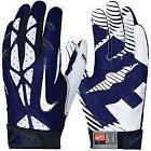 White Nike Vapor Gloves