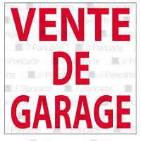MEGA VENTE DE GARAGE 10 ET 11 OCTOBRE