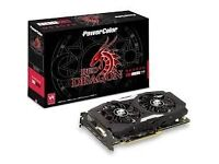 AMD Rx 480 Red Dragon Graphics Card