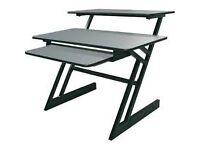 Desk Workstation or Music Production - Quiklok Z-250 Triple shelf