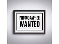 Student or Experienced Photographer Required