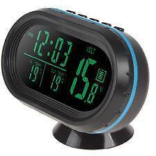 Digital Car Clock Ebay
