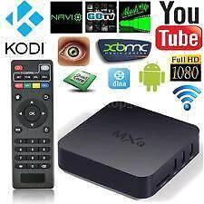 Android tv box with kodi