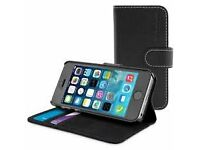 iPhone 5s Snugg Black Leather Case