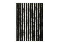 Black and White carpet 133 x 195 cm For 6£