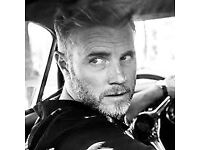 3 X Gary Barlow Tickets for Birmingham Symphony Hall, Thurs 14th June 2018 at 18.30. Great seats.