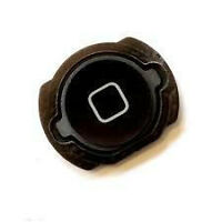 Home Menu Button With Rubber Holder For iPod Touch 4 4th Gen