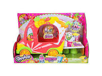 Brand New in box Shopkins Shoppies Smoothie Truck Playset