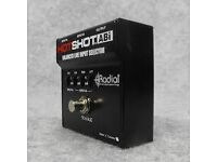 XLR Footswitch Pedal selector for Microphones, Guitar, Instruments