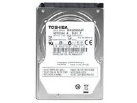 "Toshiba 320 GB Internal HDD - 2.5"" - SATA for xbox or ps3"