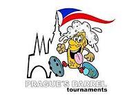 Football 7 a side Prague's Barrel international tournament