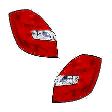Skoda fabia mk2 2010/2014 rear lights
