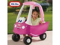 Girls Pink Coupe Car