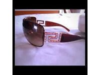 Vintage Versace Sunglasses MOD.2072-B