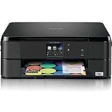 Brother DCP-J562DW Colour Print Copy Scan Fax 12 Mths Wrnty Laptop PC Includes 2 Sets of Ink