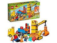 Lego 10813 Duplo Big Construction Complete Set
