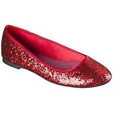 5fcb59fd6d70 Red Glitter Shoes