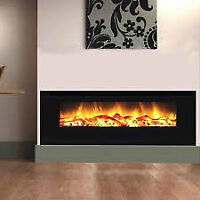 "70"" Built In Electric Fireplace ***LOG ***LIMITED TIME SPECIAL**"